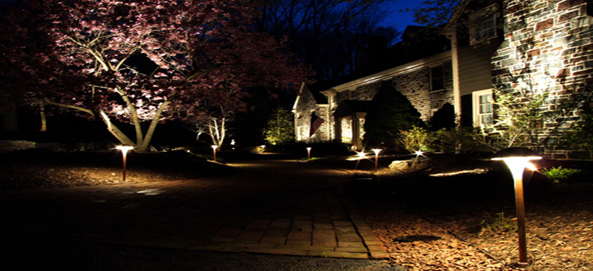 Attractive Landscaping Lighting Design